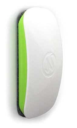 U Brands Magnetic Dry Erase Board Eraser, Felt Bottom Surfac