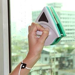 Magnetic Window Cleaner Double Side Glass Blowing Rub Brush