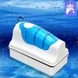 Medium Aquarium Fish Tank Floating Magnetic Glass Cleaner Al