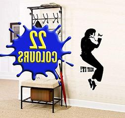 ArtStiskerCool Michael Jackson classic dance pose - Wall Dec