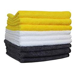 Microfiber cleaning cloth, high water absorption, easy to dr