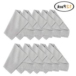 Microfiber Cleaning Cloth 20x 20 Inch  for Lens, Eyeglasses,
