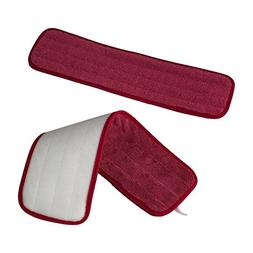 SportLite Microfiber Mop Pads by Clear Kleen - 2-Pack or 4-P