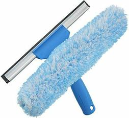 Microfiber Window Combi 2-in-1 Professional Squeegee and Win