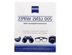 Zeiss Pre-Moistened Lens Cleaning Wipes - Cleans Without Str