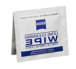 Zeiss Pre-Moistened Lens Cleaning Wipes, 6 x 5-Inches, 100 c