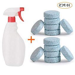 Leegoal Multifunctional Effervescent Spray Cleaner Bottle, 2