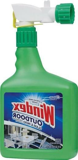 NEW WINDEX 10122 32OZ BOTTLE CONCENTRATED OUTDOOR GLASS CLEA