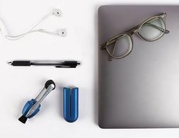 New, Original Blue PEEPS eyeglass & lens cleaner. Soft Micro