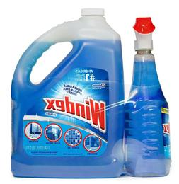 Windex Original Glass Cleaner 128 oz. refill + 32 oz. trigge