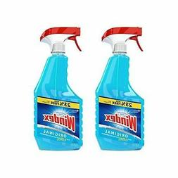Windex Original Glass Cleaner Spray, 32 oz-2 pack