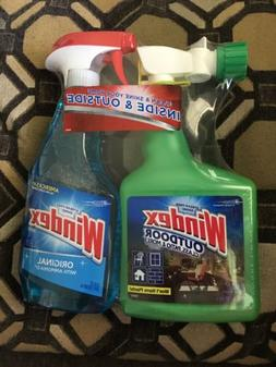 Windex Outdoor/Indoor Glass and Patio Cleaner 32 fl oz & 23
