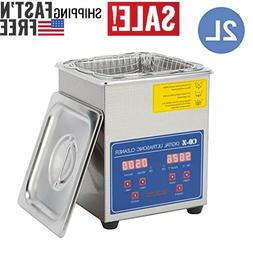 professional ultrasonic cleaner 2l with digital timer