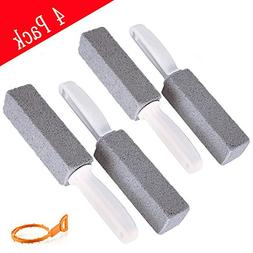 Kalolary Pumice Cleaning Stone Handle Toilet a Drain Snake,