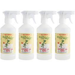 Rebel Green Natural All-Purpose Cleaner Spray - Kid Safe, Pe