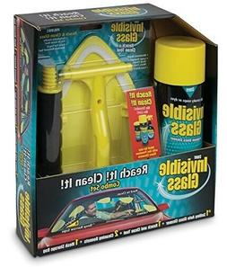 Invisible Glass Reach Clean Combo Pack,19 oz Cleaner Tool Wi