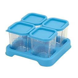 green sprouts Fresh Baby Food Glass Cubes  | Store, carry, h