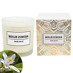 AromusBloom Scented Candle Gift with Natural Essential Oils,
