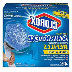 Clorox Scrubmate X-Large Refill, Bath and Tile, 4 Count