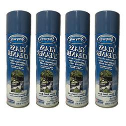 Sprsyway Glass Cleaner, Clean Fresh Scent, 23oz Can