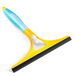 Rockland Guard Squeegee w/Built-in Spray for Glass, Window,