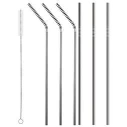 Zicome Stainless Steel Drinking Straws, Free Cleaning Brush