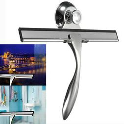 Stainless Steel Squeegee Glass Window Wiper Cleaner Mirror T