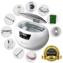 Stainless Steel Ultrasonic Cleaner Jewelry Glasses Lens Watc