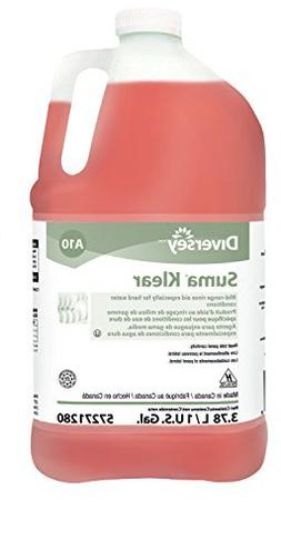 Diversey Suma Klear Kitchen Rinse Aid for Rapid Drying, 1 Ga