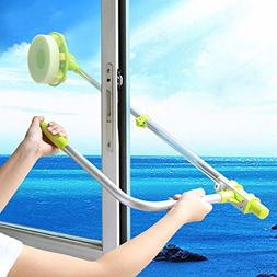 telescopic High-rise Window cleaning glass Sponge ra mop cle