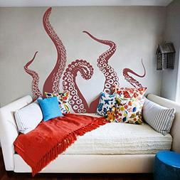 Tentacles Wall Decal Kraken Octopus Tentacles Wall Sticker S