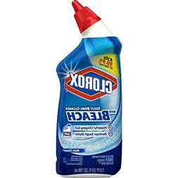 Clorox Toilet Bowl Cleaner, Rain Clean - 24 Fluid Ounces