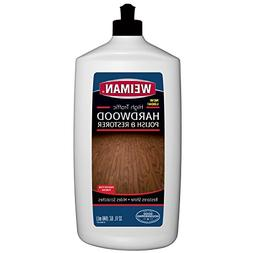 Weiman Wood Floor Polish and Restorer - 32 Ounce - High-Traf