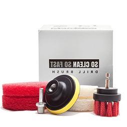 Ultimate Drill Scrub Kit - Clean 5X Faster - Remove Hard Wat