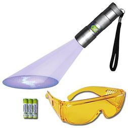 uv flashlight urine detector blacklight