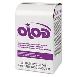 White Premium Lotion Soap, Spring Rain Scent, 800 ml Refill