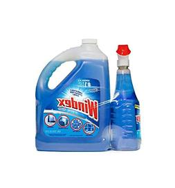 Windex Glass Cleaner Plus Refill, 32 Oz And 128 Oz