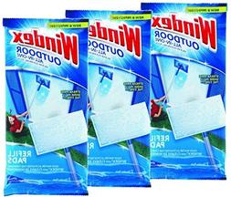 Windex Outdoor All-In-One Pads Refill,2 cleaning pads  - 6 t