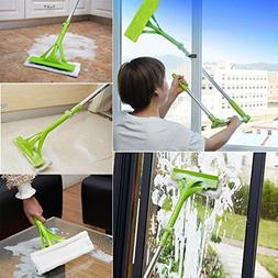 Transer Window Glass Cleaner Sponge Mop Brush Cleaning Tool