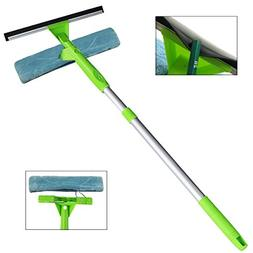 ITTAHO Window Squeegee Cleaner 3 in 1 Kit, Detachable Microf