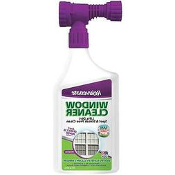 Rejuvenate Outdoor Window Spray and Rinse Cleaner with Hose
