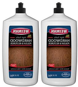 Weiman Wood Floor Polish and Restorer  32 Ounce - High-Traff