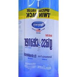 X2 combo Sprayway Glass, window Cleaner 19 oz Can Ammonia Fr
